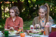 """Hannah and Jessa in #GIRLS Season 2, Episode 7, """"Video Games"""""""