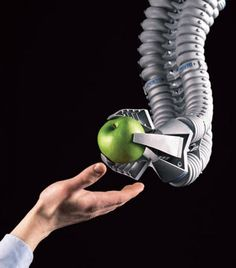 Festo's Bionic Handling Assistant. Photo: Festo Source: http://electronicdesign.com/article/embedded/safe-robot-swarms-73667