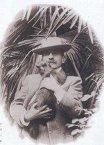 Pierre Loti et son chat