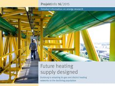 "In the last thirty years, the population of Duisburg has declined by more than one-fifth with a simultaneous reduction in the heating requirement. On behalf of the municipal utility company, an engineering company has investigated how the heat supply can be adapted to this development. The BINE-Projektinfo brochure ""Future heating supply designed"" (16/2015) describes possible scenarios."