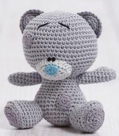 1 DMC Natura Tiny Tatty Teddy Amigurumi Crochet KIT