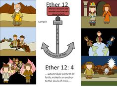 Games and other activities for Family Night: Faith Ether 12 Moroni teaches about faith
