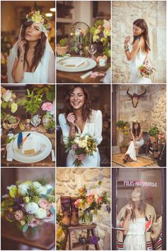 This folk wedding, featured on Bridal Musings, is full of breathtaking details and stunning dresses. Parisian chic meets Southwest boho style in this inspiring photo shoot! French Wedding, Chic Wedding, Dream Wedding, Wedding Blog, Wedding Goals, Wedding Themes, Wedding Styles, Wedding Decorations, Wedding Photos