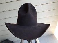 9f254eb16a7ec Vintage Western Brown 6 7 8 Tom Mix Gus Cowboy Hat SASS movie Westworld 55