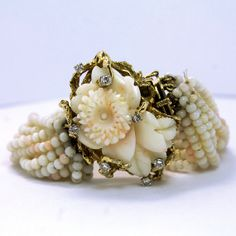Exquisite Vintage 14KT  Angel Skin Coral and by JMPierceJewelry, $3750.00