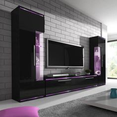 Nordic Fashionable Design Home Living Room TV Cabinet TV Stand Furniture - What Works and What Doesn't - kindledecor Modern Tv Room, Modern Tv Wall Units, Modern Living, Modern Tv Cabinet, Living Room Tv Cabinet, Home Living Room, Home Room Design, House Design, Tv Unit Furniture