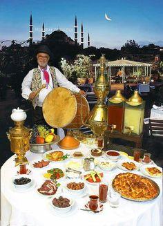 Ramazan  davulcusu  Istanbul