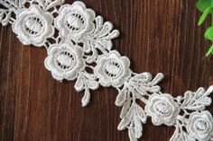 Items similar to 2 pieces Ivory Flower Applique, Alencon Lace Applique, Bridal Headpiece Applique,For DIY Dress,Bridal Hair Accessories on Etsy Baby Blanket Crochet, Crochet Baby, Holly Leaf, Lace Making, Flower Applique, Diy Dress, Bridal Hair Accessories, Bridal Headpieces, Bridal Dresses