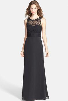 romantic black wedding dresses