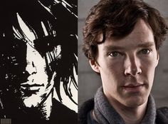 I can honestly say that I never want there to be a Sandman movie because, I just think it wouldn't do the source material justice. That said, if it ever did happen, Benedict Cumberbatch is a dead ringer for Morpheus.