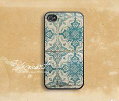 iPhone 5 case, iPhone 4 case, iPhone 4s case, case for iPhone 4, floral pattern B152