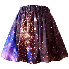 Starburst Cluster Galaxy Skirt (£93) ❤ liked on Polyvore featuring skirts, checkerboard skirt, galaxy print skirt, galaxy skirt, checkered skirt and draped skirt