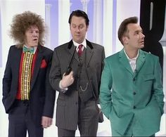Uncle Peter, Vic and Bob in The Smell of Reeves & Mortimer