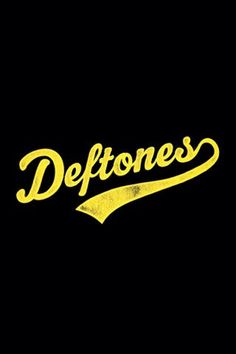 Custom logo for the Deftones whoever did this is awesome!