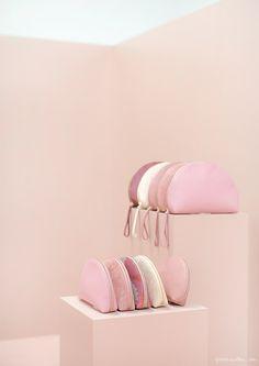 mansur gavriel shades of pink ss16 presentation fashion week garance dore photos
