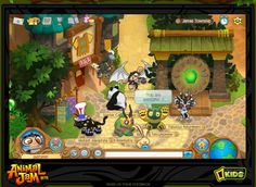 FREE Animal Jam Game for Kids from Natl Geographic