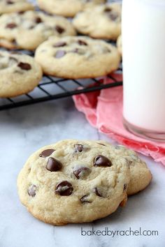 Soft Batch Chocolate Chip Cookie