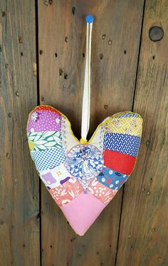 Check out this item in my Etsy shop https://www.etsy.com/listing/279804236/handmade-heart-ornament-made-from