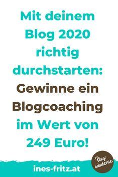 Gewinnspiel bis 29.2.2020: Gewinne dein persönliches Blogcoaching im Wert von 249 Euro! Sei schnell und melde dich gleich dafür an!   #blogger #blogreichweitesteiger #mehrleser #seo #bloggen #blogartikel #tippsfuerblogger #gewinnspiel #blogverbessern #besserschreiben #affiliatemarketing #geldverdienenblogger Affiliate Marketing, Content Marketing, Storytelling, Euro, Wordpress, Website, Search Engine Optimization, Further Education, Business