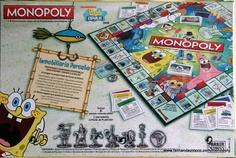Monopoly Bob Esponja
