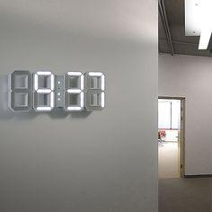Wanduhr Designer wanduhren dekoration kreative dreidimensionale spiegel wandaufkleber