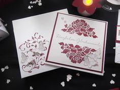 Sconebeker Stempelscheune - Stampin up Hochzeitskarte, Dankekarte, Papillon Potpourri, Auf den ersten Blick, Florale Grüße,