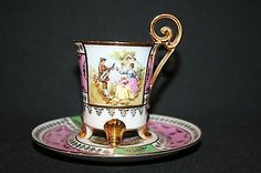 ELW Made in Western Germany Demitasse Cup and Saucer $29.00 (Out of stock)