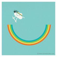 Sky is my playground | Doodle Everyday 285