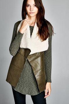 Brittany Fleece Vest