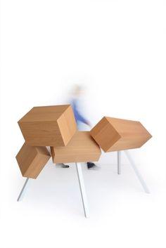 OVERDOSE Desk (by BRAM BOO for Bulo)