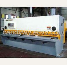 QC11Y Hydraulic Shearing Machine / Cutting Machine - China Shearing Machine;Hydraulic Shear Machine;Hydraulic Cutting Forming Machine