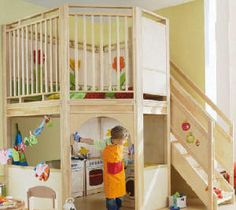There are a few things you should know before you build a playhouse for kids. Kids Indoor Playhouse, Build A Playhouse, Indoor Playground, Indoor Playroom, Playground Design, Playground Ideas, Play Spaces, Learning Spaces, Kid Spaces