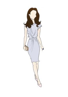 "Royal Tour Canada Duchess of Cambridge  Fashion Print 8.5""x11""  - Roksanda Ilincic Peridot Dress"