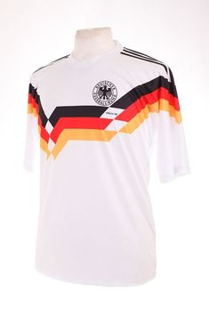 Germany Deutschland ITALIA 90 1990 Matthaus 10 Replica Football Shirt Trikot M for sale online Retro Football Shirts, Polo Ralph Lauren, Germany, Mood, Sports, Mens Tops, Ebay, Fashion, T Shirts