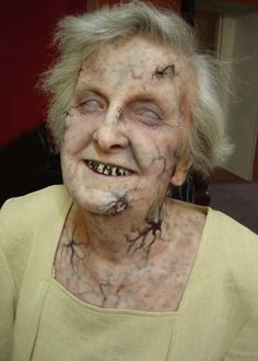 zombie granny...this is just wrong! lol