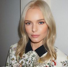 Who's that girl? Kate Bosworth, 33, debuted a sculpted look after getting her make-up done...