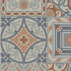 Cushion Floor Lino Vinyl Sheet Mosaic Tile Design Non Slip Flooring Retro Vinyl Flooring, Vinyl Flooring Rolls, Cushioned Vinyl Flooring, Vinyl Sheet Flooring, Non Slip Flooring, Mosaic Tile Designs, Mosaic Tiles, Sol Pvc, Tapis Design