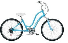 Trere is nothing better than riding a beautiful women beach cruiser on a summer day along the cost with your love one