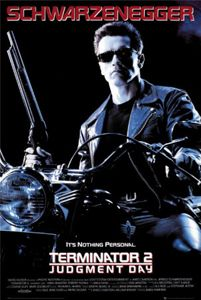 Terminator 2 : Judgement Day is a science fiction movie directed by James Cameron in 1991.