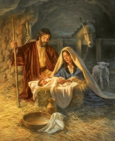 The birth of our Savior Jesus Christ! The whole reason for the season!