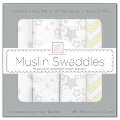 SwaddleDesigns Set of 4 Muslin Swaddle Blankets, Sterling... https://www.amazon.com/dp/B017PCHNVO/ref=cm_sw_r_pi_dp_x_FR.byb8HFVZA0