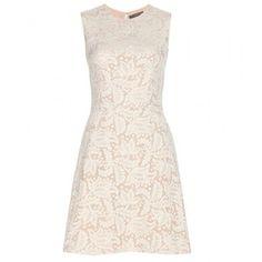 Alexander McQueen Lace Shift Dress