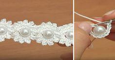 Flower Chain Crochet Pattern Easy Video