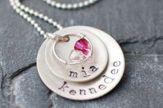 DIY How to make hand stamped jewelry--I have purchased several and thought hmmm, maybe I could try this on my own, we'll see (: