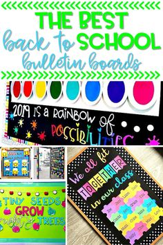 Decorating a classroom is one of many things teachers have to look forward to when heading back to school. These back to school bulletin boards are sure to brighten up any classroom, and get students excited about the new school year.