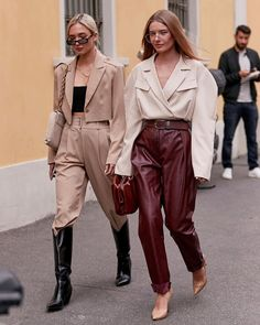 The Best Street Style From Fall 2019 Fashion Weeks Street Style, Cool Street Fashion, Milan Fashion, Daily Fashion, Fashion Art, Fashion Weeks, Estilo Blogger, Casual Outfits, Fashion Outfits
