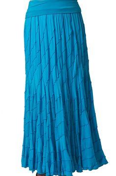 Boho Chic Turquoise Swirl Skirt: Western Wear | Women Western Clothing | Western Apparel Clothing