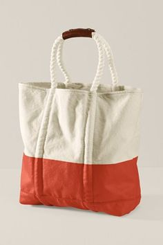 Could make a fabric bag and make rope handles. … | bolsas ...