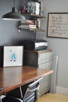 Bryan and Sarah's Vintage Modern Home and Studio
