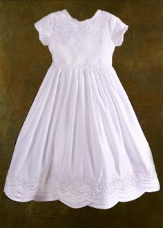 First Communion Dress- Joslyn likes this one